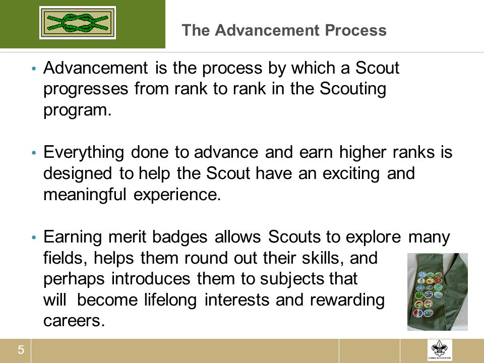 The Advancement Process