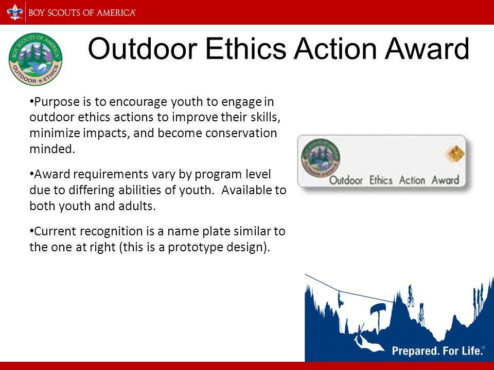 Outdoor Ethics Action Award
