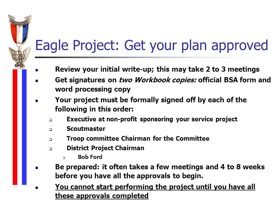 eagle project write up Sign up i am a youth parent volunteer advancement resources this is the newly revised eagle scout service project workbook.