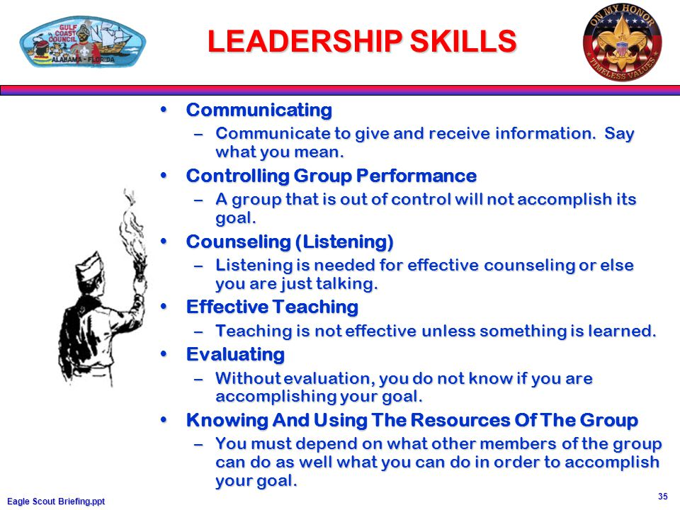 effective group leadership skills A list of 101 leadership skills, traits, qualities and characteristics here you'll learn how to become a more effective, inspiring and engaged leader.