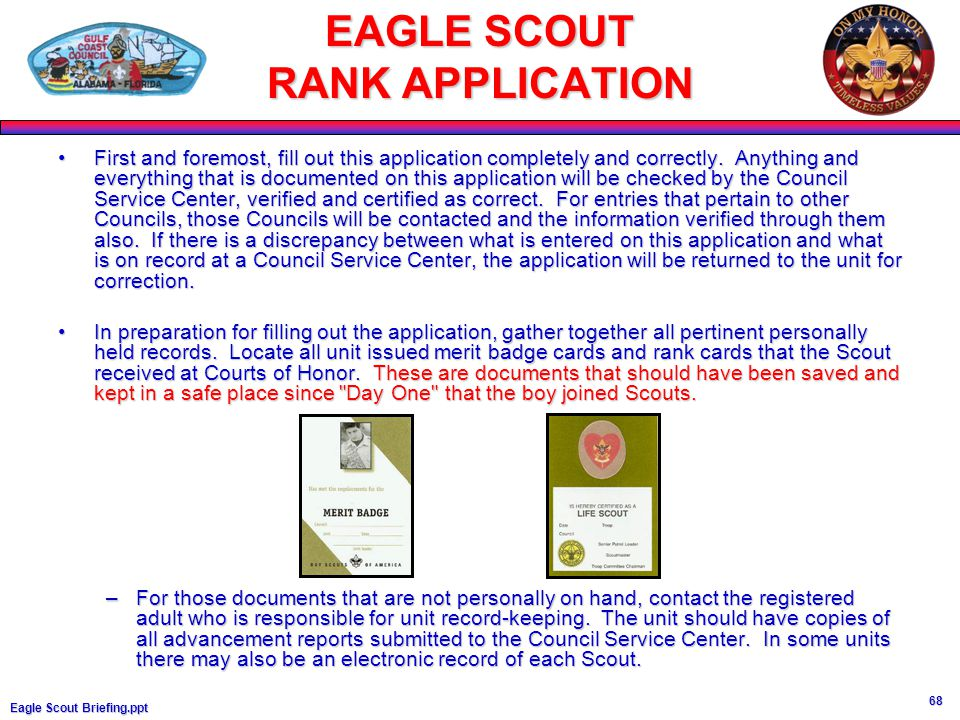 eagle scout essay application All the new eagle scout needs to do is fill out a simple online form, submit with two short essays, and that's it the deadline for submissions is january 5th, and winner will be announced at the new eagle scout banquet on february 23.