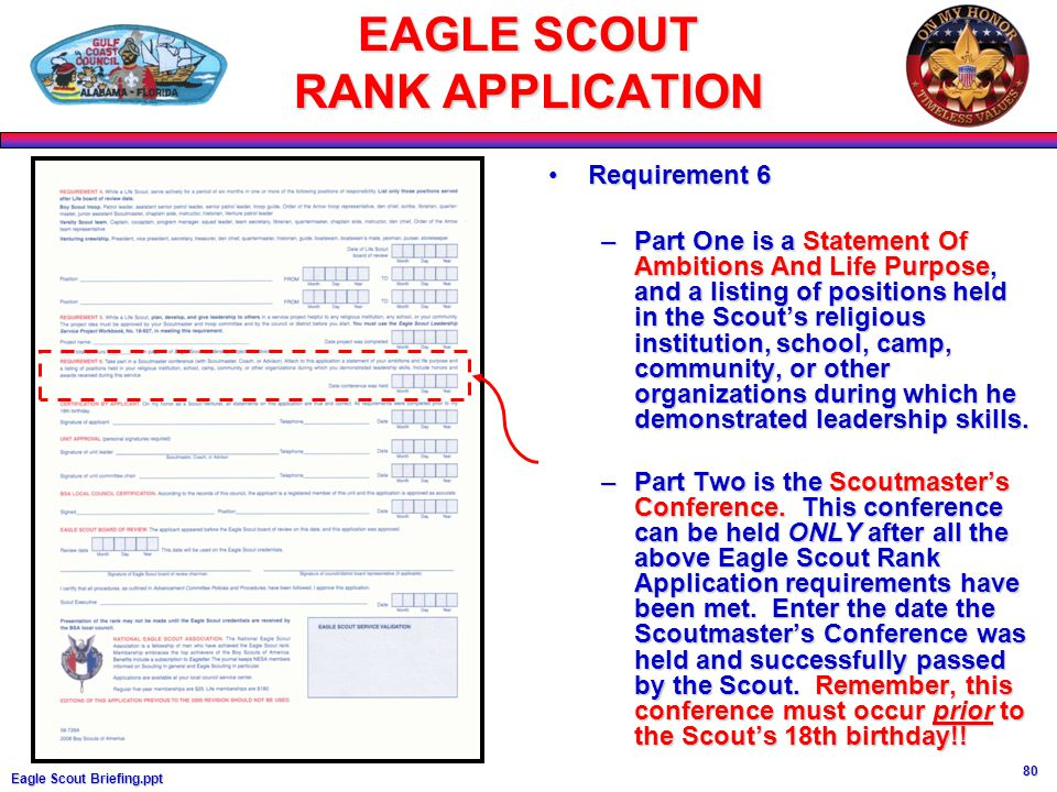 eagle scout life purpose