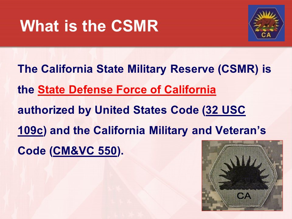 What is the CSMR