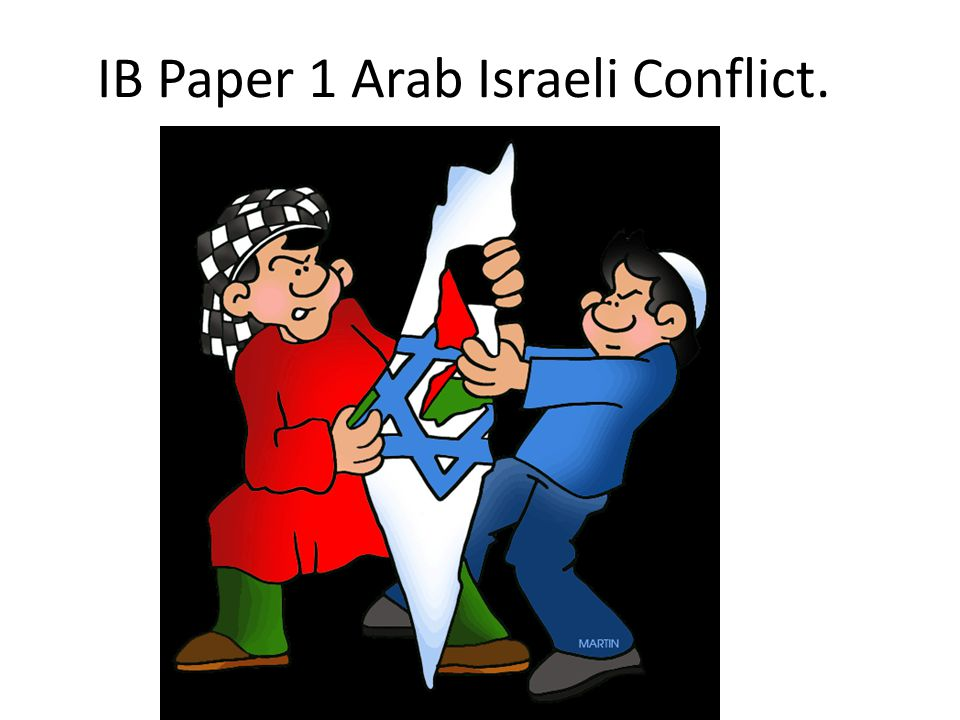 arab-israeli conflict research paper