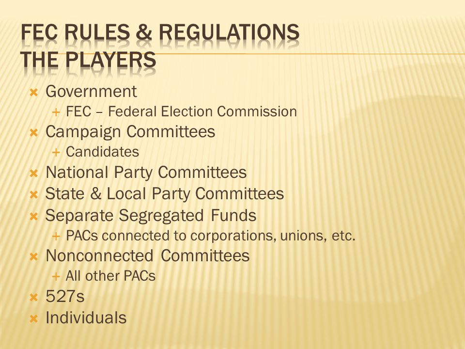 regulations on campaigns campaign finance reform essay