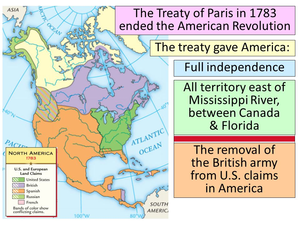 the treaty of paris 1783