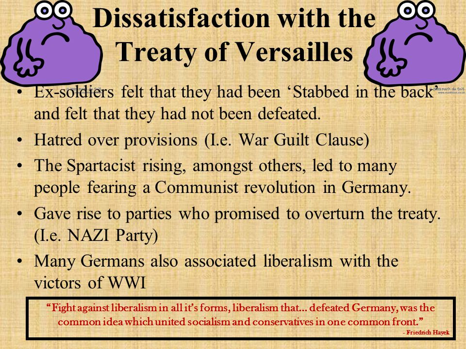 the many failures of the treaty of versailles in the united states The text of the treaty of versailles, with us senate reservations  the treaty  has been criticized for its harsh treatment of germany, which many historians   however, and despite wilson's efforts, the us senate failed to ratify the treaty.