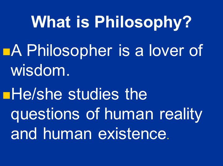 philosophy and human existence pdf