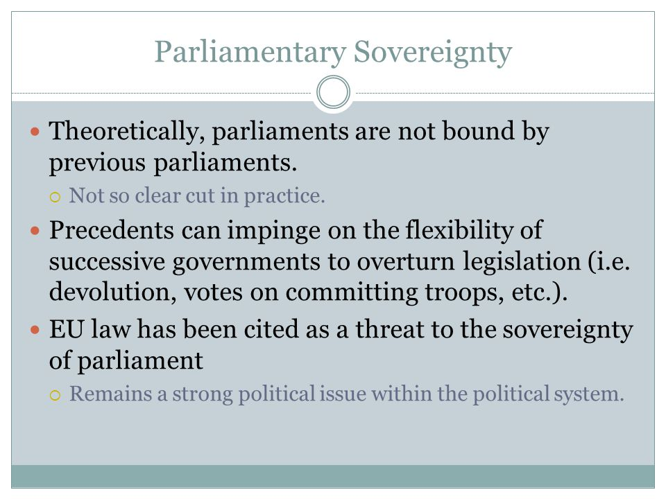 """the uk parliament sovereignty Image: uk parliament (flicr, cc by-nc 20)  the eu was """"the principle of  parliamentary sovereignty the basis of our unwritten constitutional."""