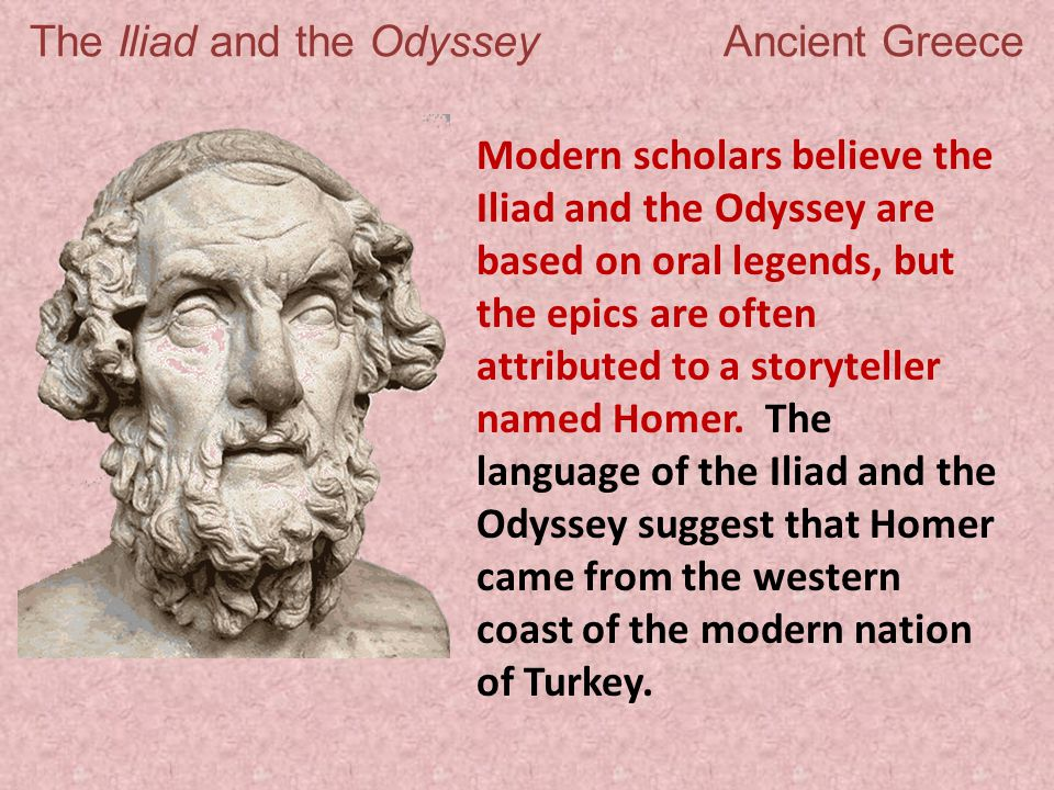 a research on the ideals of ancient greece portrayed in the odyssey The odyssey women is one of the most popular to reveal the female gender roles in the ancient greece period which created its own canons and ideals.