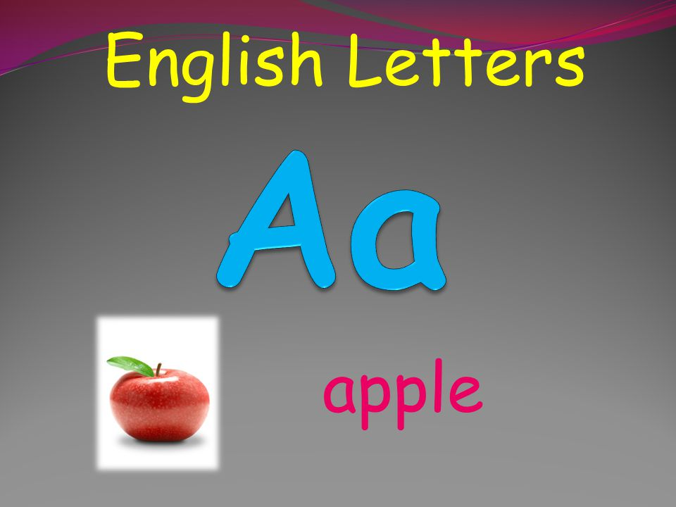English Letters English Letters