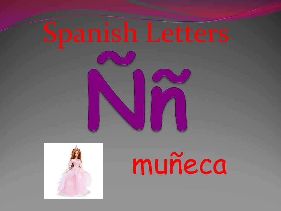 Spanish Letters Ññ muñeca