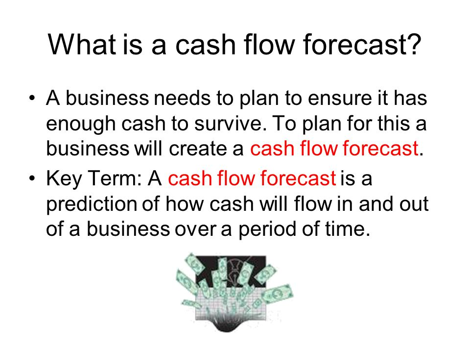 what is a cash flow report