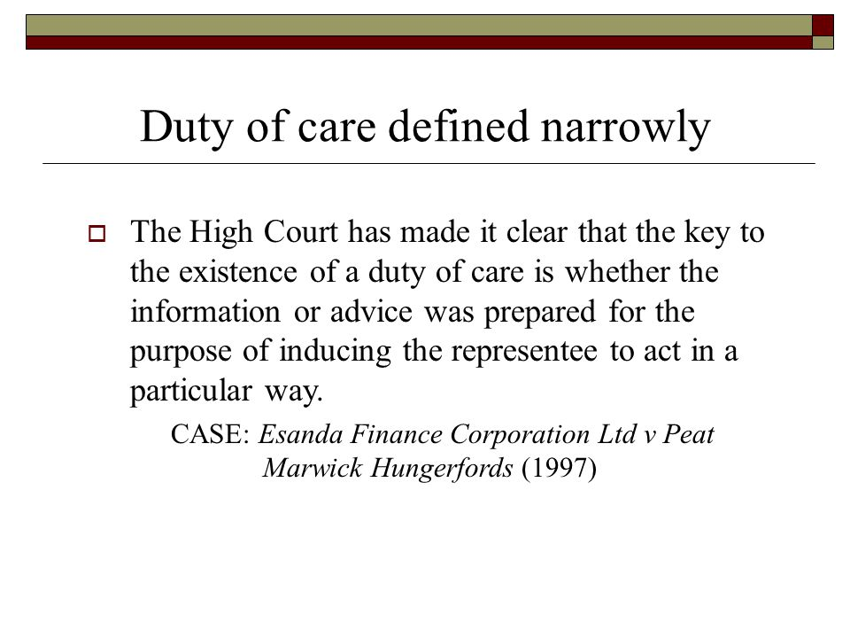 l shaddock associates case v Example of the development of court made law  case 1:langridge v levy  eg l shaddock & associates pty ltd v parramatta city council.