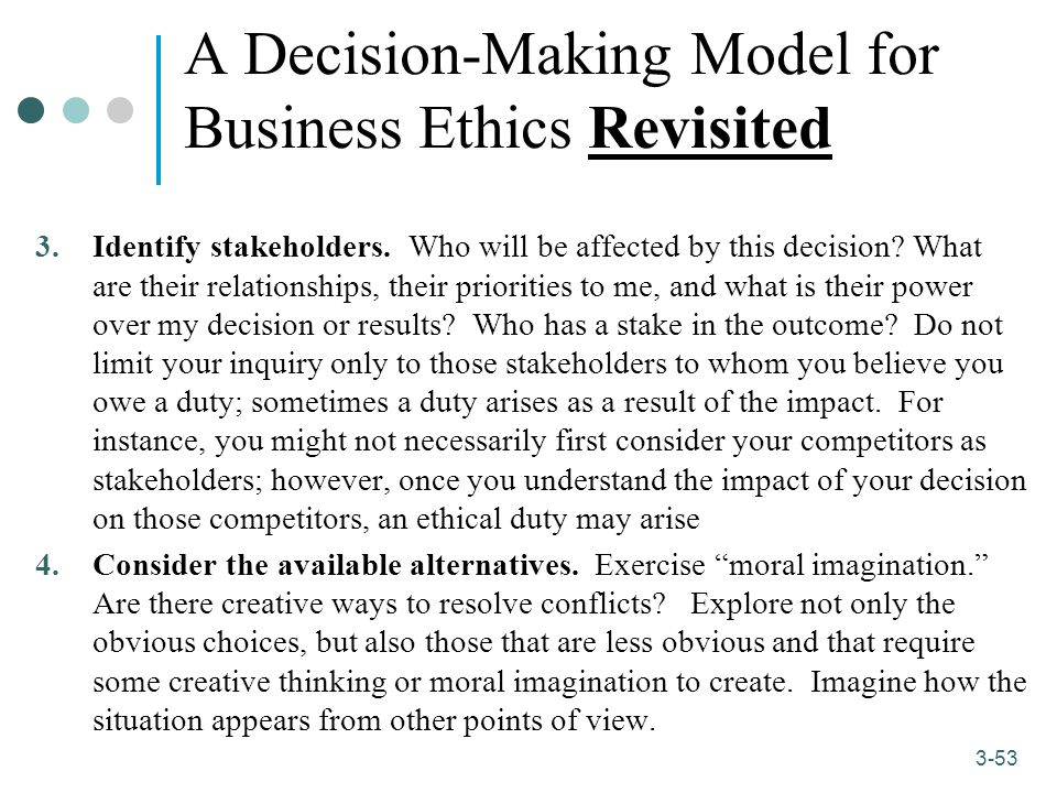 what are ways to maintain moral integrity in professional decision making Appropriate ways he found integrity to be  professional integrity is a sub-category  when making a moral judgments or decision will more.