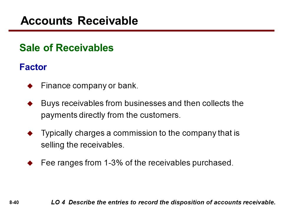 Accounting For Receivables  Ppt Video Online Download. Sexual Harrassment Lawyers How Backup Iphone. Open Up A Bank Account Online. University Of Chicago School Of Nursing. Coupon Code For Att Uverse Cable Internet Nj. Fairfield University Admissions. Lean Six Sigma Training And Certification. Flat Rate Moving Miami Care Homes For Elderly. What Is Erp System In Accounting