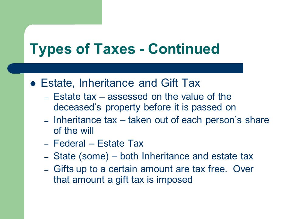 TAXES By Stevie VanDeVelde. - ppt video online download