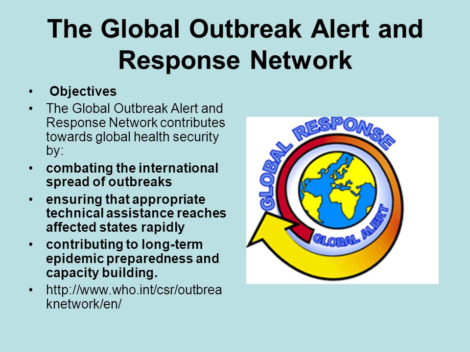 The Global Outbreak Alert and Response Network