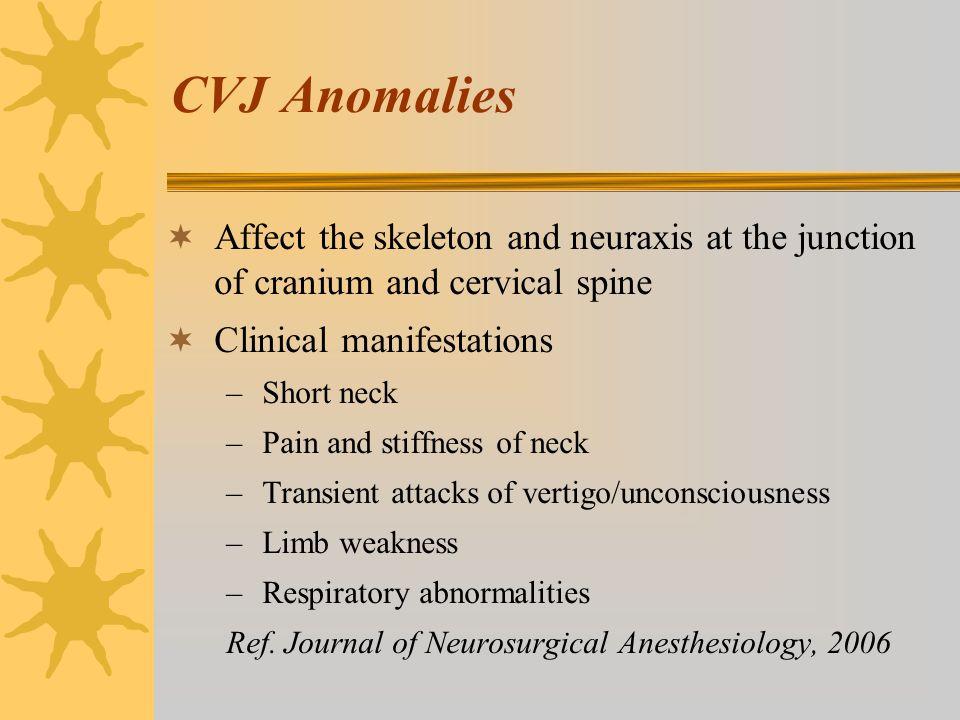cervical stenosis and vertigo