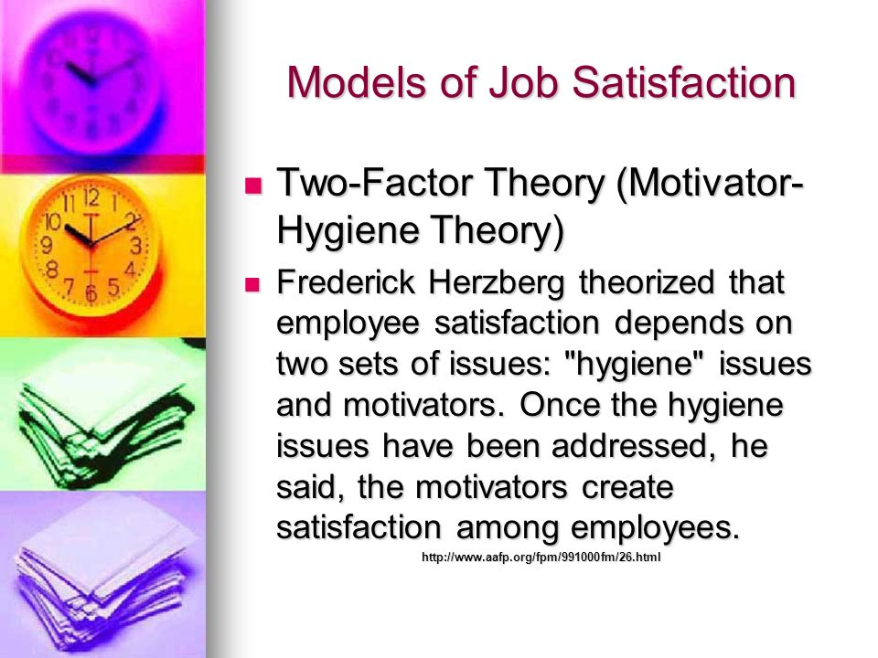 Models of Job Satisfaction