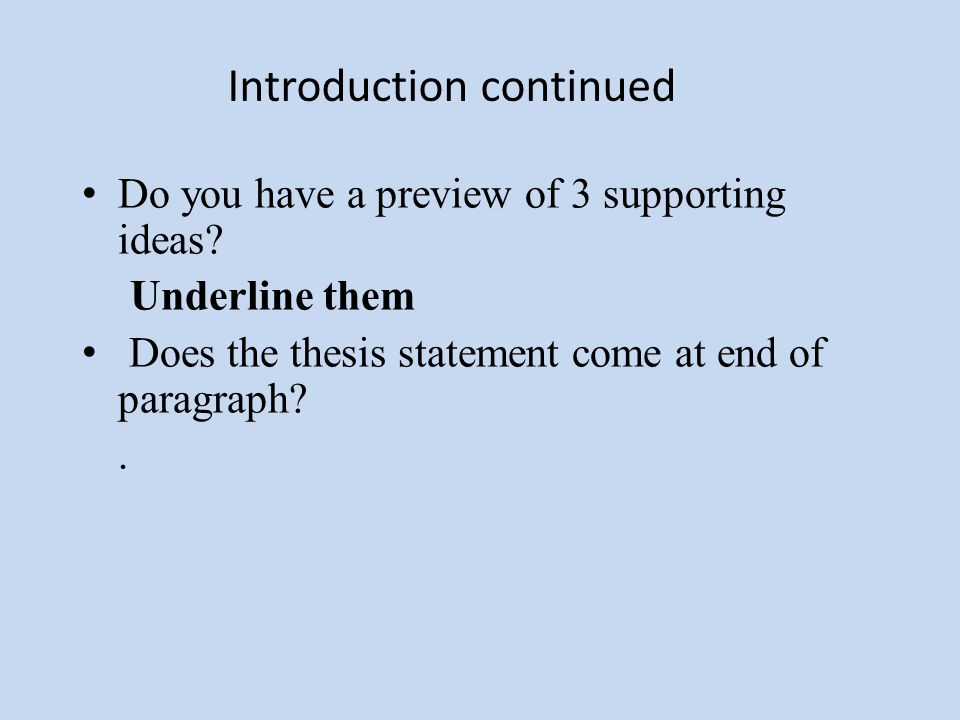 self edit for the bean trees essay ppt  5 introduction continued