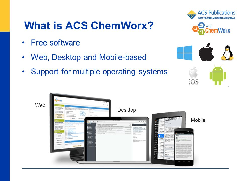 Aware Website system desktop tools