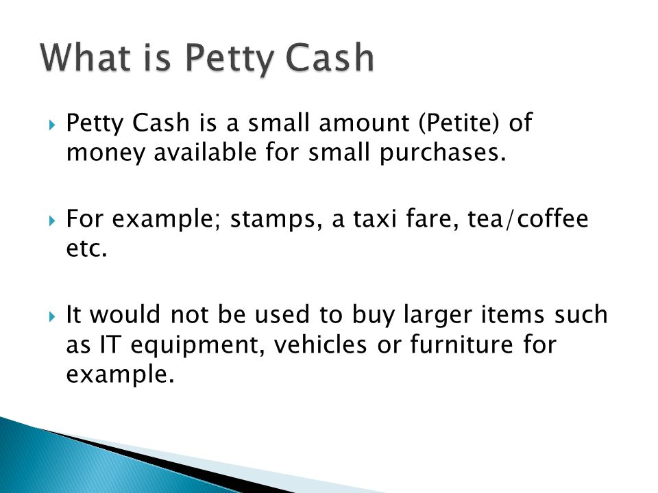 Petty Cash ppt download – Example of Petty Cash Voucher