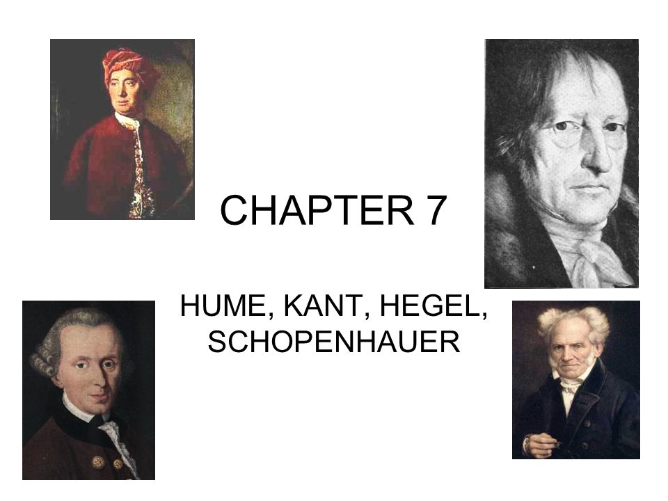 kant and hegel essay