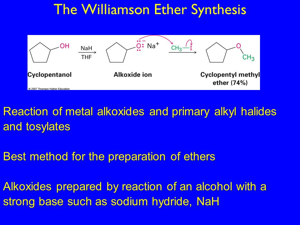 Dehydration Reaction Example Ch.18: Ethers and Epox...