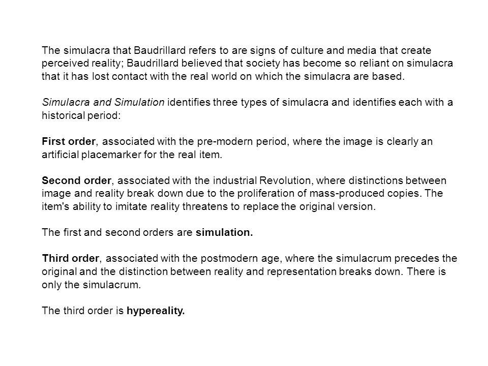 baudrillard simulacra and simulation pdf download
