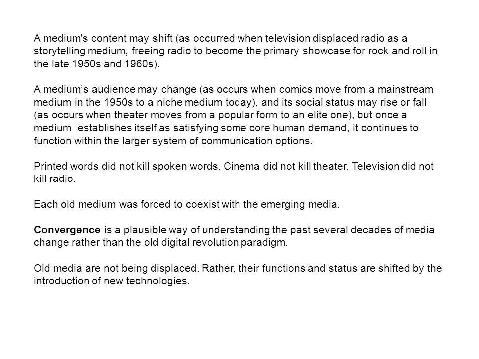 This module explores questions regarding the circulation of media ...