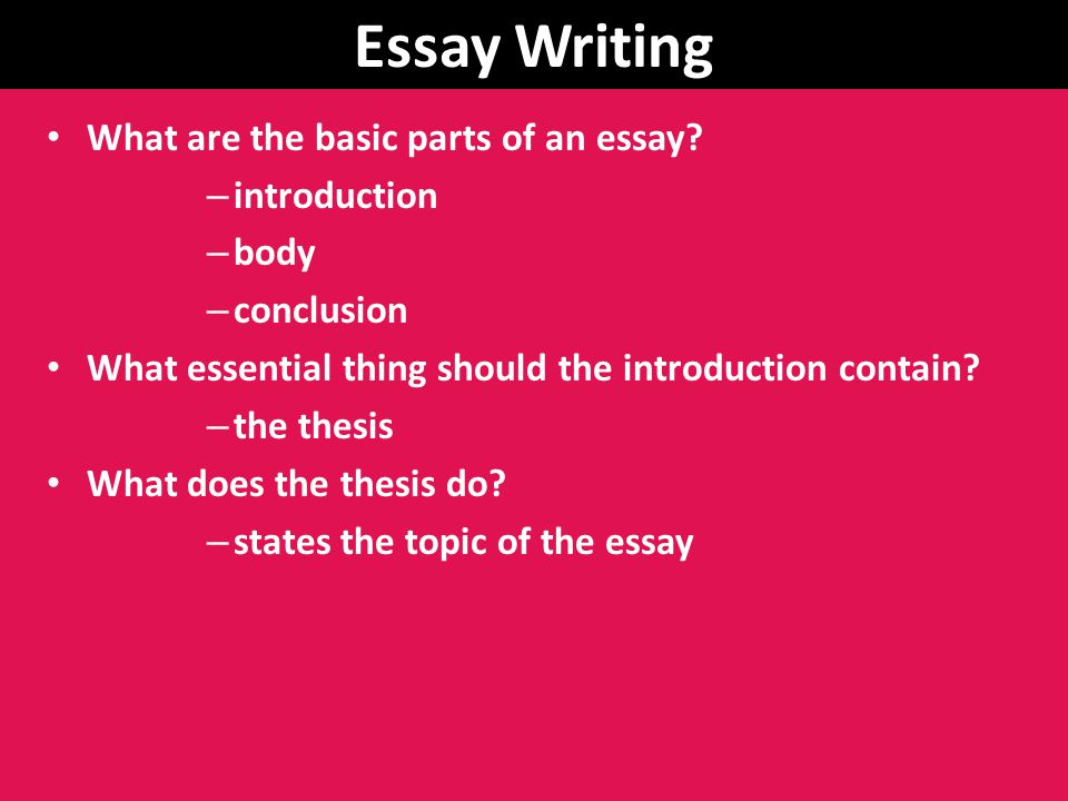 law essays introduction Writing your personal statement for law school a personal statement for law school is different than a statement of purpose in addition to your introduction.
