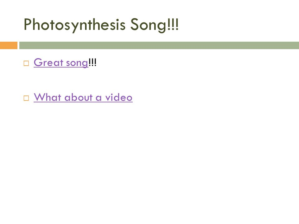 photosynthesis rap Photosynthesis is a process in which sunlight energy is used to make glucose the site of photosynthesis is in the chloroplast – an organelle found in the leaves of green plants the main functions of chloroplasts are to produce food (glucose ) during photosynthesis, and to store food energy chloroplasts contain the pigment.
