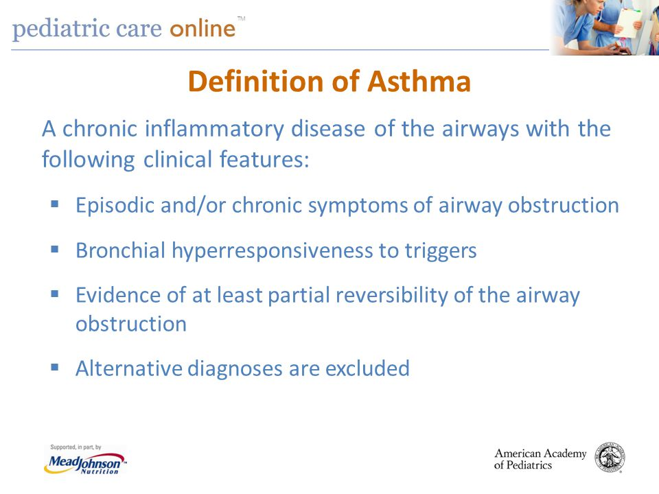 Asthma: A common chronic inflammatory disease