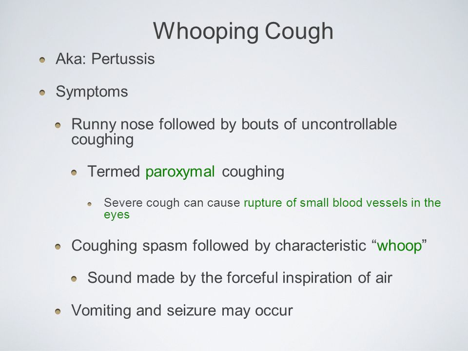 the causes symptoms and treatment of whooping cough Although it's considered a vaccine-preventable disease, whooping cough (pertussis) certainly hasn't been eliminated as a public health problem the incidence of.