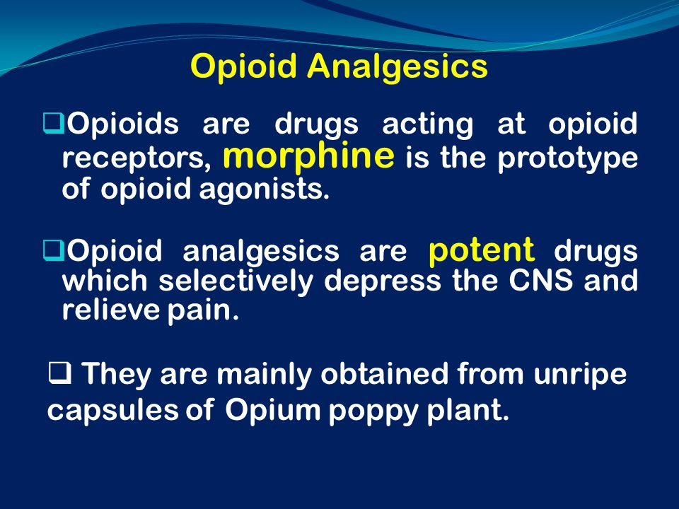 experiment 2 analgesic action of morphine View global litigation for patent families us6787149b1 - topical application of opioid analgesic drugs such as morphine - google patents.