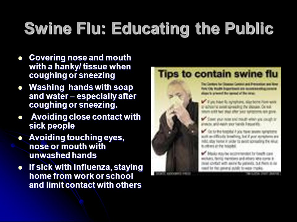 Swine Flu: Educating the Public