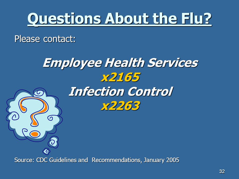 Questions About the Flu