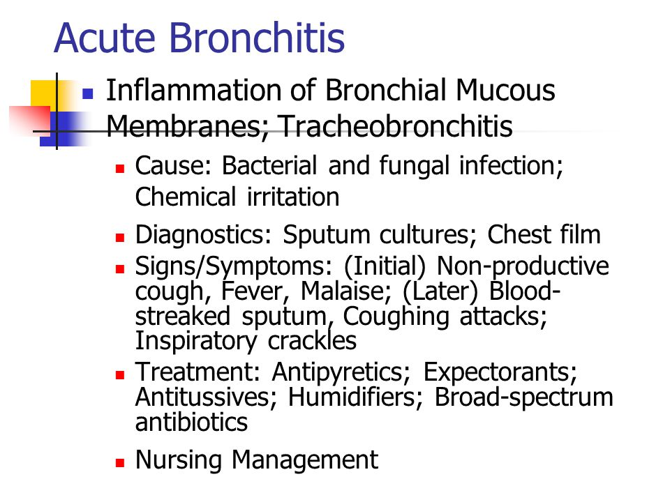how to stop coughing from acute bronchitis