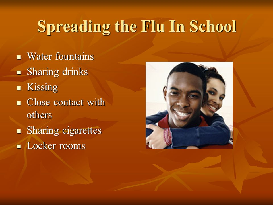 Spreading the Flu In School