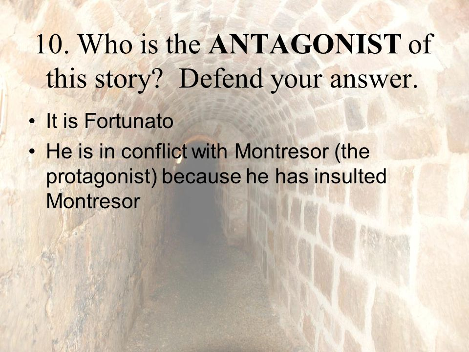 montresor unreliable in the cask of amontillado Unreliable narrator text set text sets view all  library the cask of amontillado about blog careers contact donate faq partners press research security.