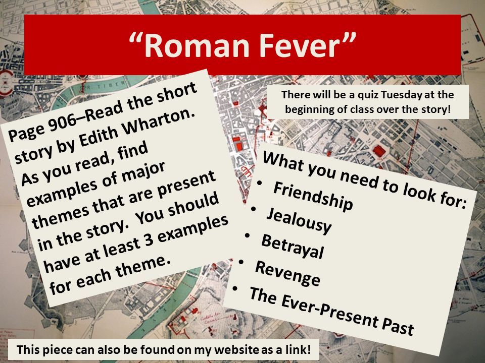 "r fever"" by edith wharton ppt  10 ""r"