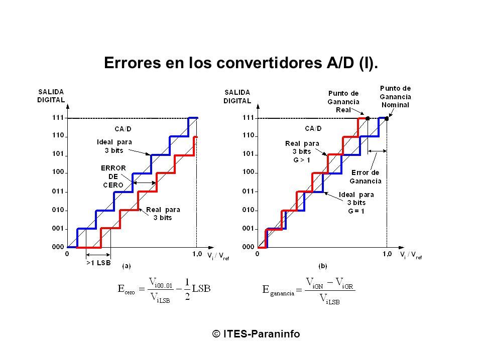 Errores en los convertidores A/D (I).