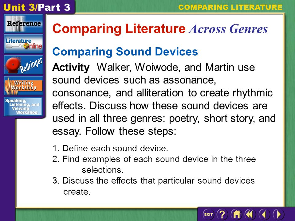 connecting and comparing literature english literature essay A guide to writing the literary analysis essay  i introduction: the first paragraph in your essayit begins creatively in order to catch your reader's interest, provides essential background about the literary work, and.
