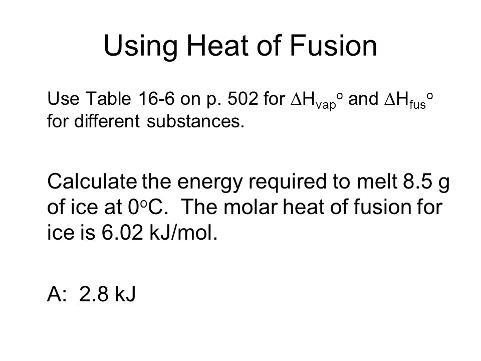 heat of a peanut lab report Calorie is the amount of heat (energy) required to raise the temperature  have  students calculate the calories in each type of nut 7  see this experiment for.