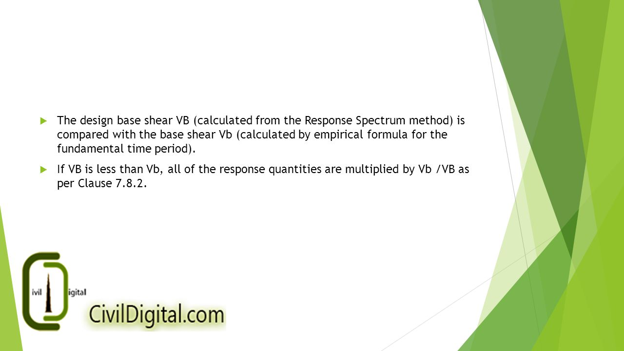 Response Spectrum Analysis as per Indian IS: 1893 (Part 1 ...