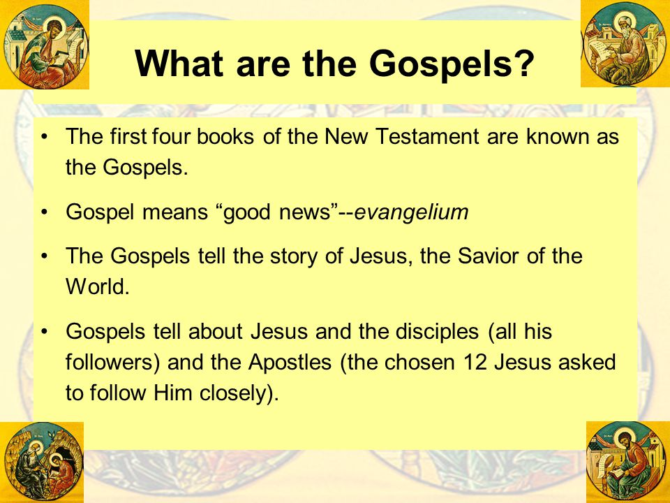the portrayal of jesus in the four gospels of the new testament Introduction to the gospels you'll gain new insight into the story of jesus—and the four specific ways the gospel writers professor of new testament at.