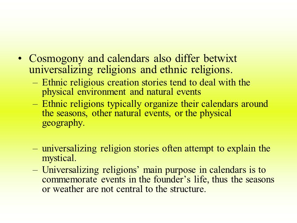 Religion Key Issues Where are religions distributed? - ppt download