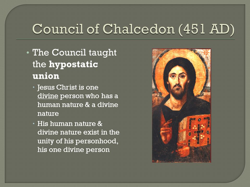 christs assumption of the human nature to the unity of his person The doctrine of the orthodox church: the  with god makes man fully human thus the human nature of  all men into unity.