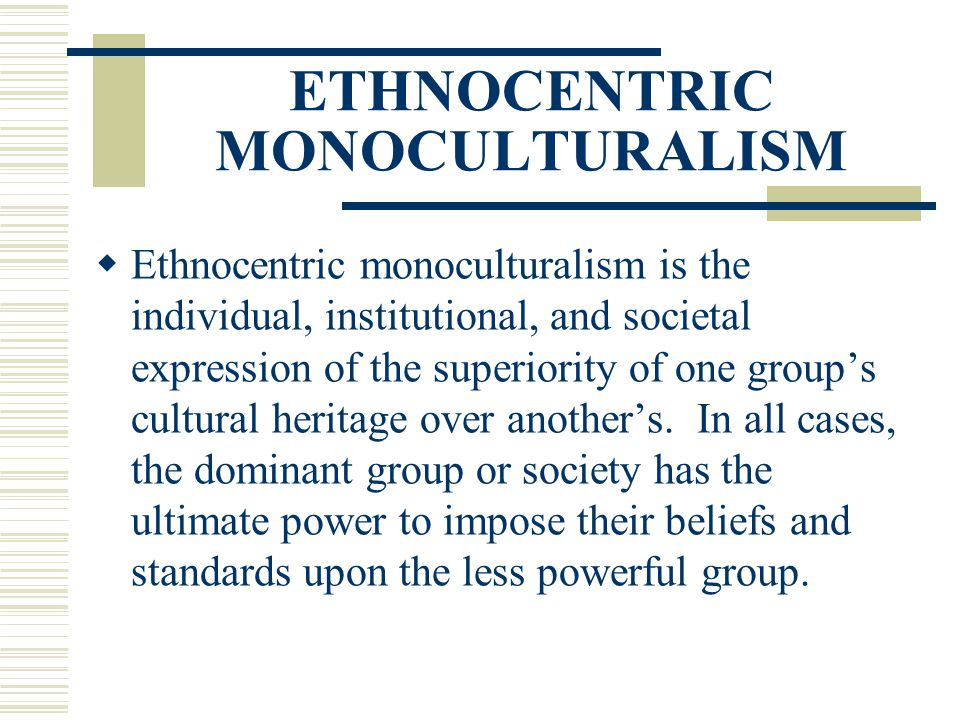 The triumph of monoculturalism in the Middle East